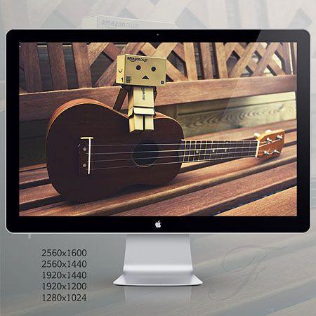 wallpaper ukulele. ukulele by ~filsru