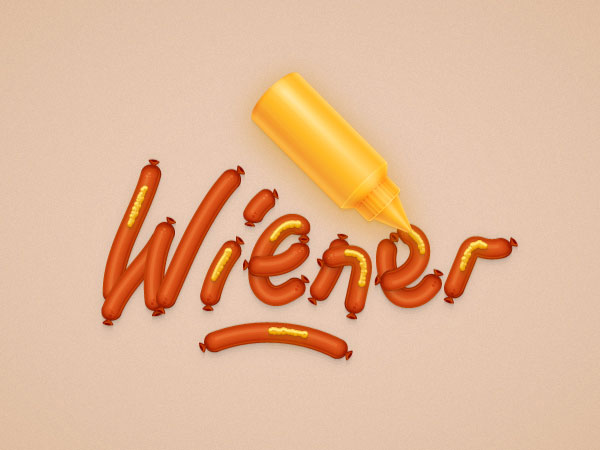 How to Create a Fun Wiener Text Effect in Adobe Illustrator