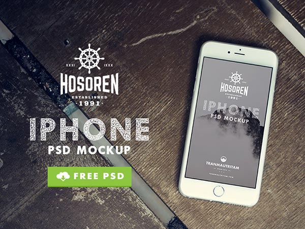 Hosoren – 10 iPhone 6 mockups
