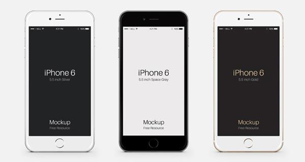 iPhone 6 Plus by Pixeden