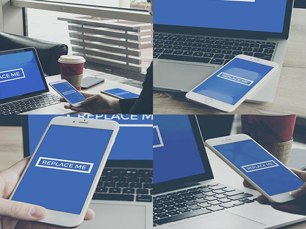 iPhone 6 Plus mockup set