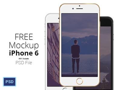 iPhone 6 mockup set