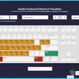 Adobe Shortcut Visualizer Maps