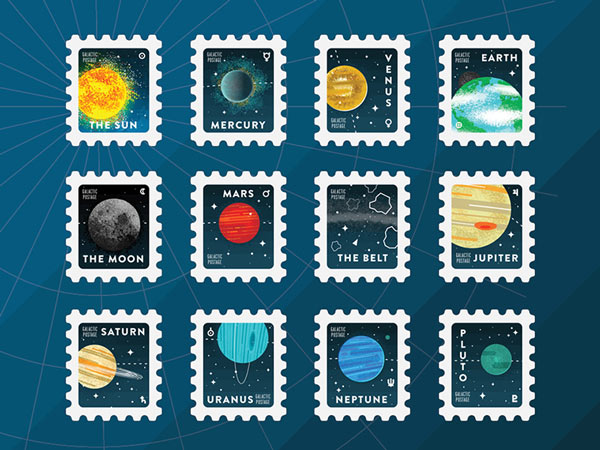 100 Days Project: Stamps