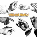 20_Vintage_Hand_Brushes_vol_1_preview