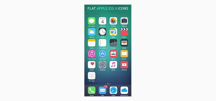 Freebie: Flat iOS Icons