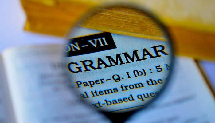 Use Correct Grammar